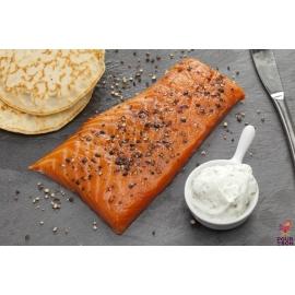 Fondant de saumon aux poivres 200g