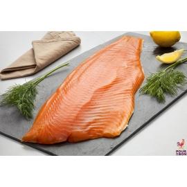 Filet de saumon fumé origine Norvège Tranché