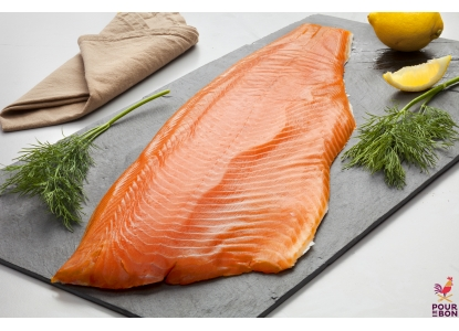 Filet de saumon fumé origine Ecosse